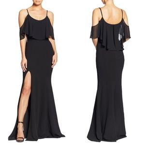 Details & Care The lithe, curve-hugging silhouette